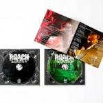 CD/DVDプレス,デジトレイ盤面、歌詞カード