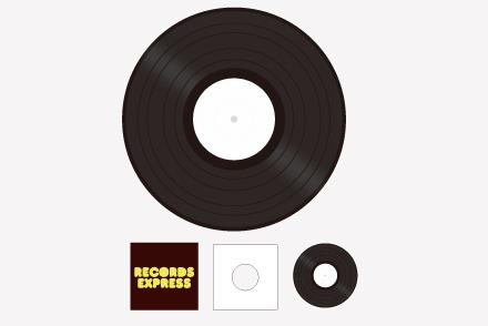 レコードプレコードプレス 10inchパック スタンダードレス 10inchパック