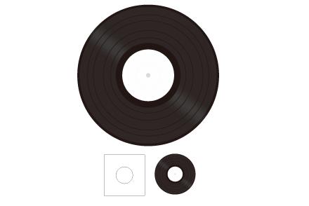 レコードプレス 10inch