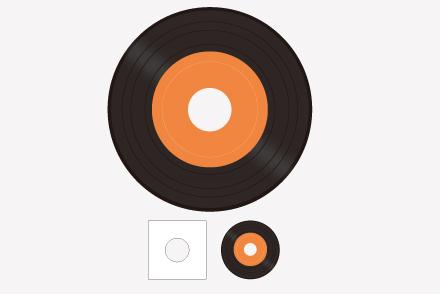 7inchレコード(スタンダード)